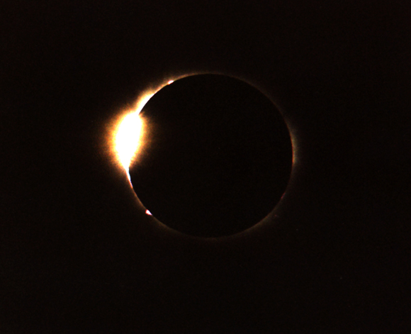 Solar System Eclipses Eclipse Diamond Ring